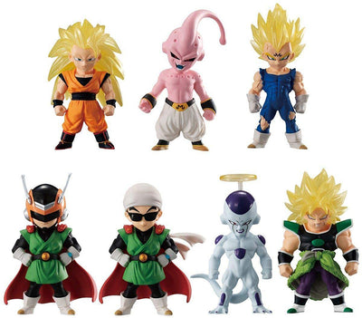 Dragonball Super Adverge 2 Inch Mini Figure Series 10 - Set of 7