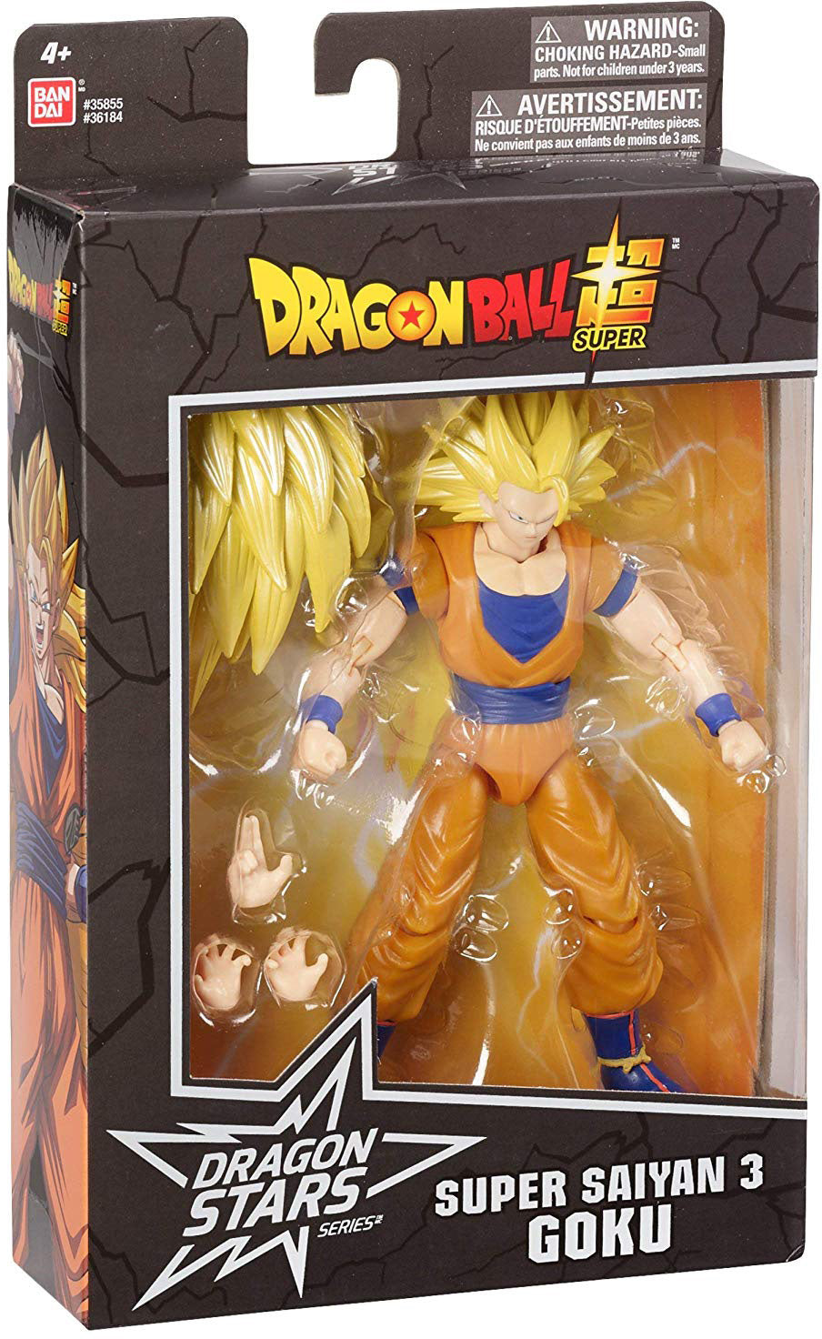 Dragonball Super 6 Inch Action Figure Dragon Stars Series 10 - Super Saiyan 3 Goku