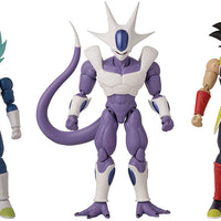 Dragonball Super Dragon Stars 6 Inch Action Figure Series 16 - Set of 3 (Blue Vegeta - Bardock - Cooler)