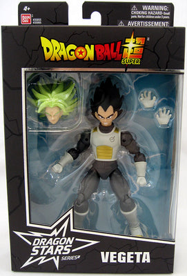 Dragonball Super 6 Inch Action Figure BAF Broly Dragon Stars Series 7 - Vegeta