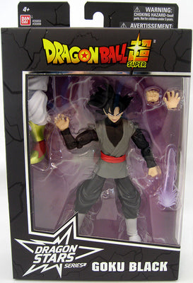 Dragonball Super 6 Inch Action Figure BAF Broly Dragon Stars Series 8 - Goku Black