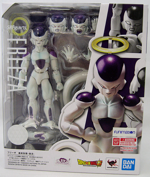 Dragonball Super 6 Inch Action Figure S.H. Figuarts - Frieza Final Form Reissue