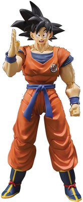 Dragonball Z 6 Inch Action Figure S.H. Figuarts - Son Goku Raised On Earth Reissue