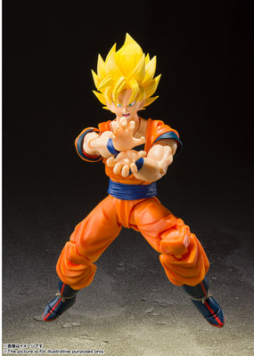 Dragonball Z 5 Inch Action Figure S.H.Figuarts - Super Saiyan Full Power Son Goku