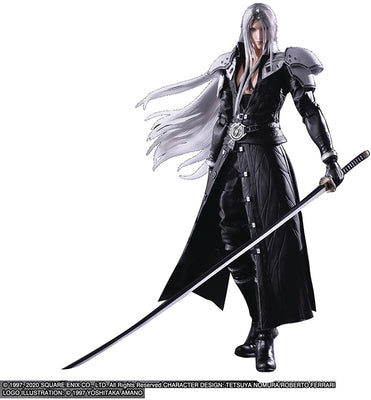 Final Fantasy VII Remake Play Arts Kai 10 Inch Action Figure - Sephiroth
