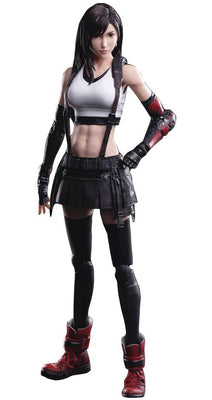 Final Fantasy VII Remake Play Arts Kai 10 Inch Action Figure - Tifa Lockhart