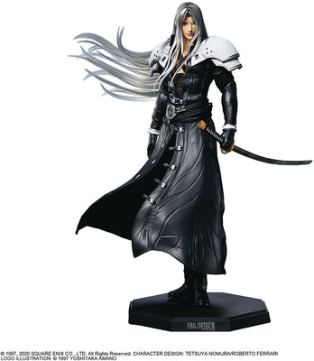 Final Fantasy VII Remake Static Art 6 Inch Static Figure - Sephiroth