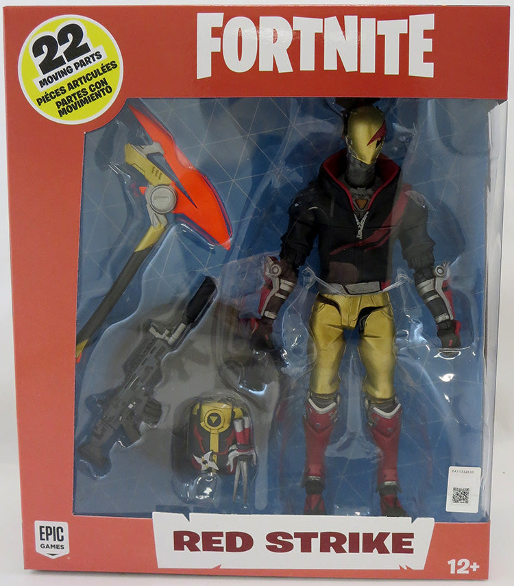 Fortnite 6 Inch Action Figure Premium Series - Red Strike
