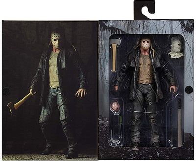 Friday The 13th 7 Inch Action Figure Ultimate Series - Jason 2009 (Shelf Wear Packaging)