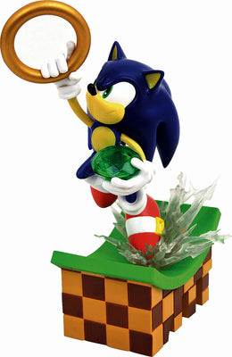 Gaming Gallery 9 Inch PVC Statue Sonic The Hedgehog - Sonic