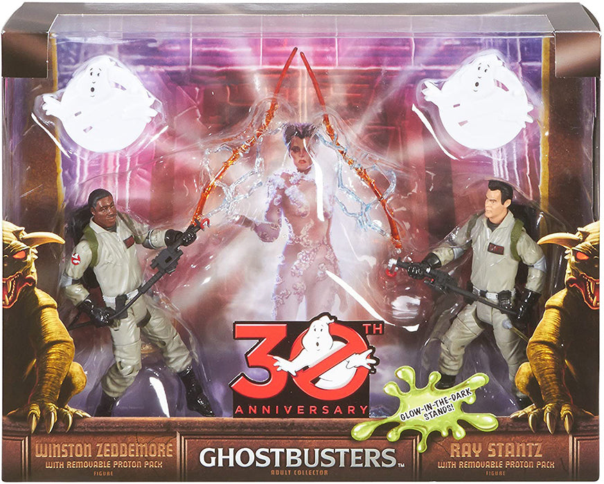 Ghostbusters 30th Anniversary 6 Inch Action Figure 2-Pack Exclusive - Ray Stantz & Winston Zeddemore
