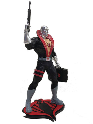 G.I. Joe 9 Inch Statue Figure 1/8 Scale PVC - Destro