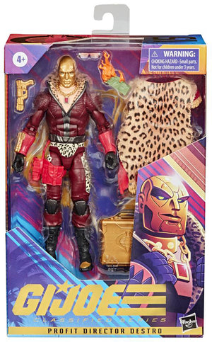 G.I. Joe Classified 6 Inch Action Figure Exclusive - Profit Director Destro #15