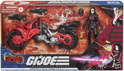 G.I. Joe Classified 6 Inch Action Figure Cobra Island Exclusive - Baroness with C.O.I.L. Bike