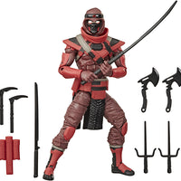 G.I. Joe Classified 6 Inch Action Figure Series 2 - Red Ninja #08