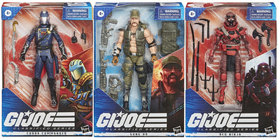 G.I. Joe Classified 6 Inch Action Figure Series 2 - Set of 3 (#07 - #08)