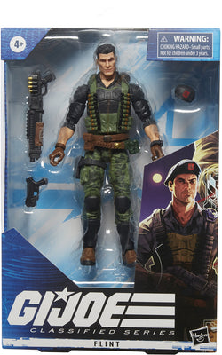 G.I. Joe 6 Inch Action Figure Classified Series 4 - Flint