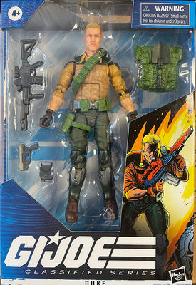 G.I. Joe 6 Inch Action Figure Classified Series - Duke #04 Black Wristband (Repaint Version)