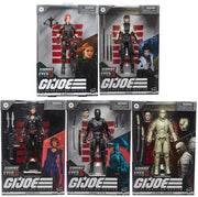 G.I. Joe Origins Movie 6 Inch Action Figure Classified Series 2 - Set of 5 (Series 1 & Series 2)
