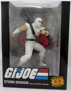 G.I. Joe PVC 8 Inch Statue Figure 1/8 Scale - Storm Shadow