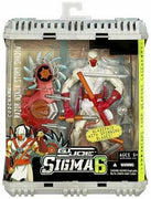 G.I. Joe Sigma 6 8 Inch Action Figure - Razor Ninja Storm Shadow
