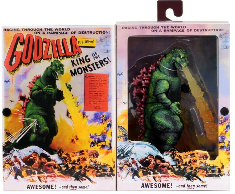 Godzilla King of the Monsters 6 Inch Action FIgure - Godzilla 1956 Movie Poster