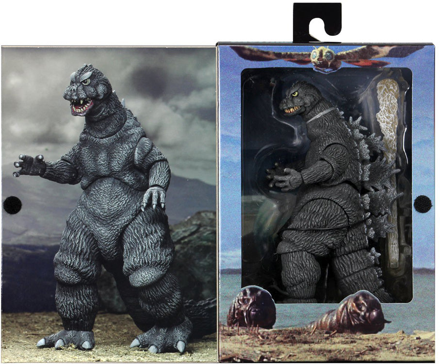 Godzilla vs Mothra 12 Inch Long Action Figure - Godzilla 1964