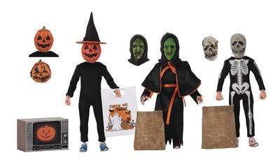 Halloween 3 Season of the Witch 6 Inch Action Figure Retro Doll Series - Trick or Treaters