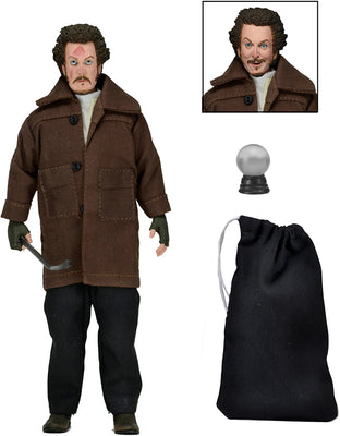 Home Alone 8 Inch Action Figure Retro Clothed Series - Marv