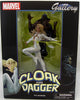 Marvel Gallery 9 Inch Statue Figure Comic Series - Cloak & Dagger (Shelf Wear Packaging)