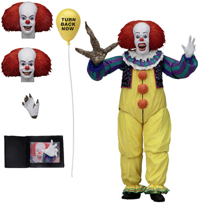 IT 1990 7 Inch Action Figure Ultimate Series - Pennywise Version 2