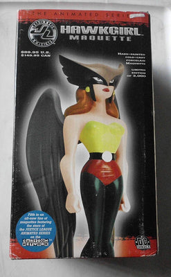 Jutstice League Animated Series 9 Inch Statue Figure Maquette - Hawkgirl