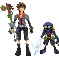 Kingdom Hearts 3 Select 7 Inch Action Figure Series 2 - Toy Story Sora with Air Soldier