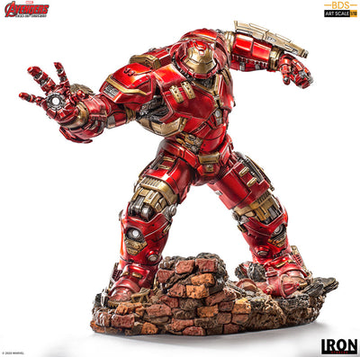 Marvel 1:10 Art Scale Avengers Age of Ultron 15 Inch Statue Figure Battle Diorama - Hulkbuster Iron Studios 906721
