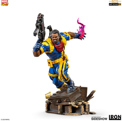 Marvel 1:10 Art Scale Battle Diorama 9 Inch Statue Figure - Bishop Iron Studios 906586