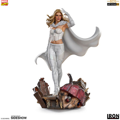 Marvel 1:10 Art Scale Battle Diorama 8 Inch Statue Figure - Emma Frost Iron Studios 906591