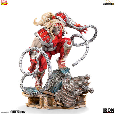 Marvel 1:10 Art Scale Battle Diorama 8 Inch Statue Figure - Omega Red Iron Studios 906585