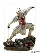 Marvel 1:10 Art Scale Series 10 Inch Statue Figure Battle Diorama - Silver Samurai Iron Studios 906736