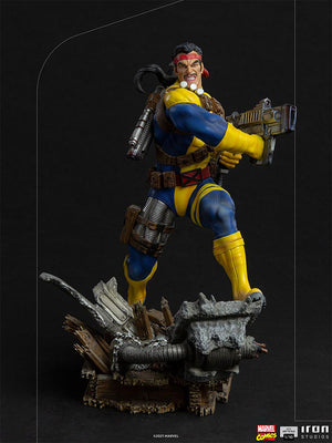 Marvel 1:10 Art Scale Series X-Men 9 Inch Statue Figure Battle Diorama - Forge Iron Studios 908133
