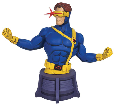 Marvel Animated 6 Inch Bust Statue - Cyclops Bust