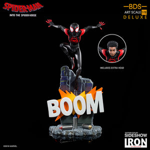 Marvel Art Scale 1:10 8 Inch Statue Figure Battle Diorama - Miles Morales Iron Studios 904965