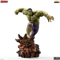Marvel 1:10 Art Scale Series Avengers: Age of Ultron 10 Inch Statue Figure Battle Diorama - Hulk Iron Studios 906720