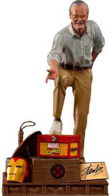 Marvel 1:10 Art Scale Series 7 Inch Statue Figure - Stan Lee Deluxe Iron Studios 906844