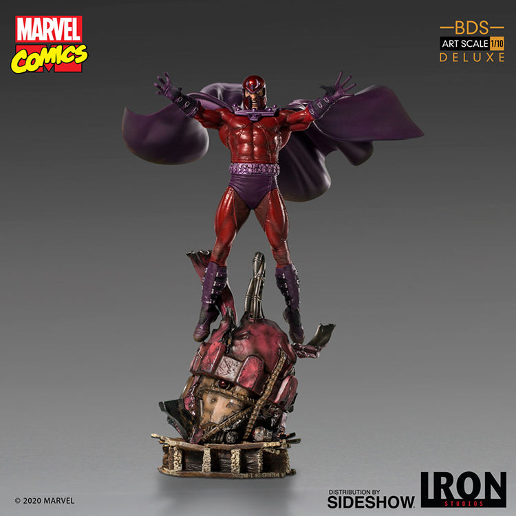 Marvel Battle Diorama Art Scale 12 Inch Statue Figure X-Men - Magneto Deluxe Iron Studios 906031