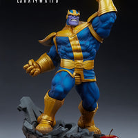 Marvel Collectible Avengers Assemble 23 Inch Action Figure - Thanos (Classic Version) Sideshow 200570