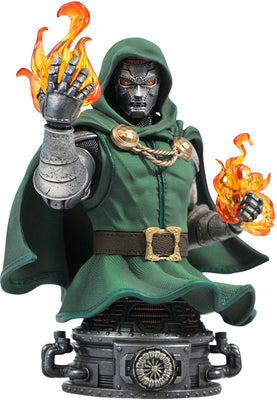 Marvel Collectible Fantastic Four 6 Inch Bust Statue - Dr Doom