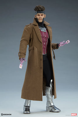 Marvel Collectible X-Men 12 Inch Action Figure 1/6 Scale - Gambit Deluxe Sideshow 100439