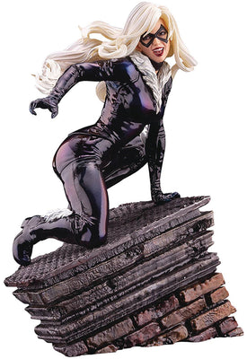 Marvel Comics Presents 8 Inch Statue Figure ArtFX Premier - Black Cat