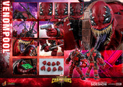 Marvel Deadpool Collectible 14 Inch Action Figure 1/6 Scale Series - Venompool Hot Toys 904937