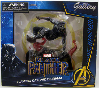 Marvel Gallery 9 Inch Statue Figure Black Panther Movie - Black Panther V2
